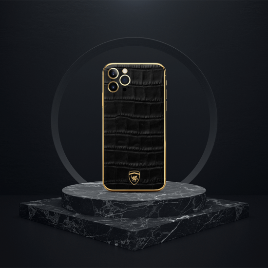 iPhone - Leather Crocodile Series