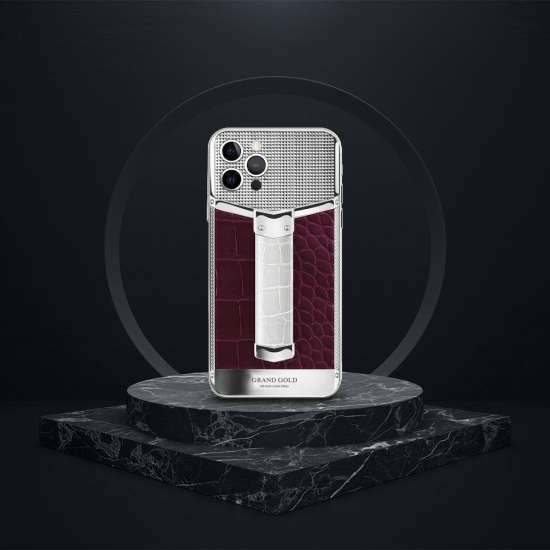 iPhone - BLK Strap Alligator Edition