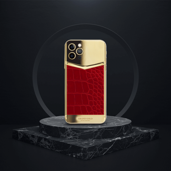 iPhone BLK Solid Gold Edition